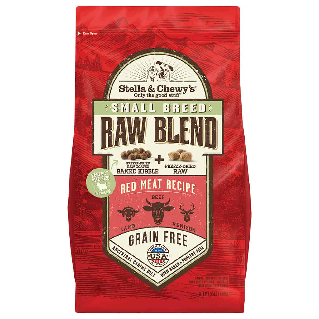 S&C RAW BLEND RED MEAT Small Breed 3.5#