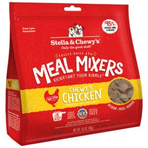Chicken Meal Mixer Freeze Dried