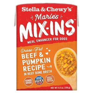 S&C Marie's Mix Ins - Grass Fed Beef & Pumpkin Recipe