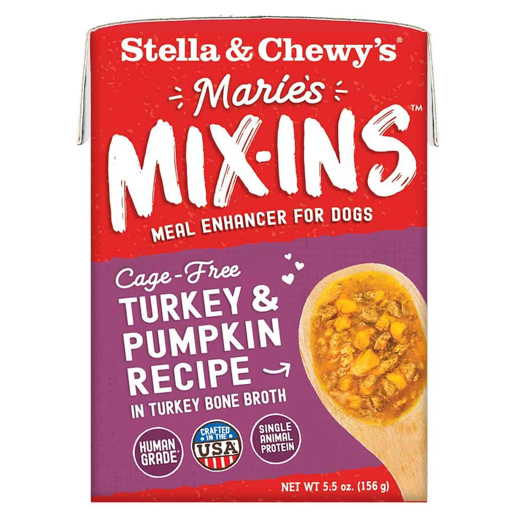 S&C Marie's Mix Ins - Cage Free Turkey & Pumpkin Recipe