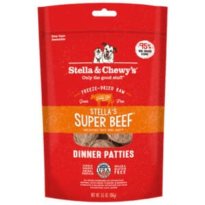 S&C Dinner Patties Stella's Super Beef 5.5OZ