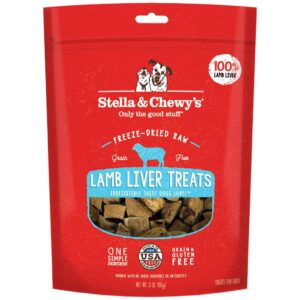 S&C Lamb Liver Freeze Dried Treat 3Z