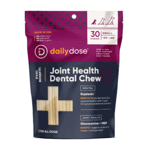 Virbac daily dose Hip + Joint Dental Dog Chew 15ct Medium