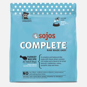 Sojos Complete Dog Food Turkey Recipe 7 Pound