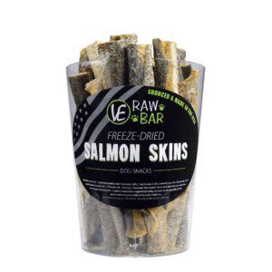 Freeze Dried Salmon Skins