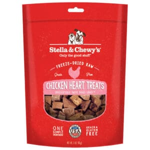S&C Chicken Heart Freeze Dried Treat 3Z