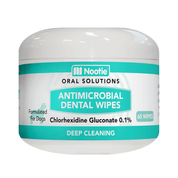 Antimicrobial Dental Wipes for Dogs – 60 Wipes 1