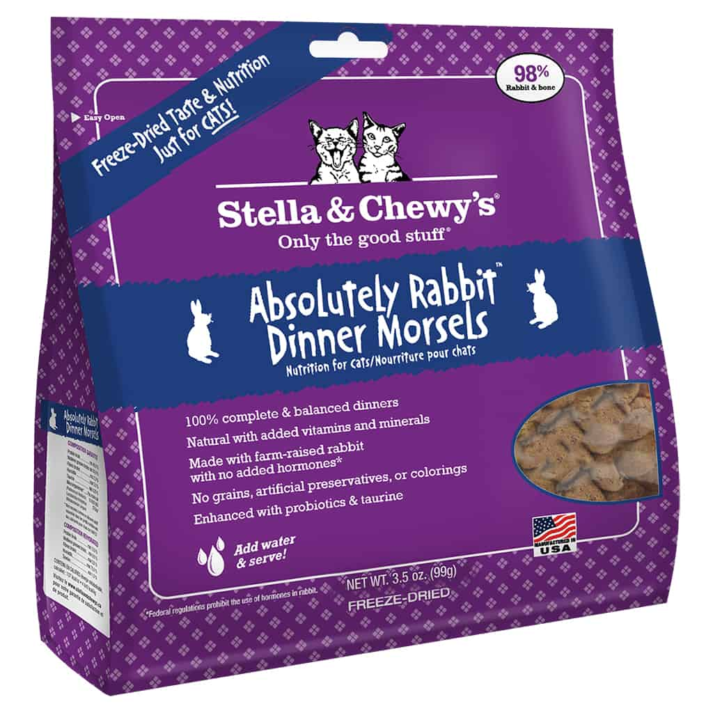 S&C ABSOLUTELY Rabbit Freeze Dried 3.5 OZ