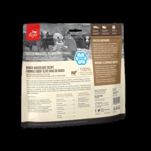 NS ORIJEN Dog Treats Ranch-Raised Beef Back Right 42.5g