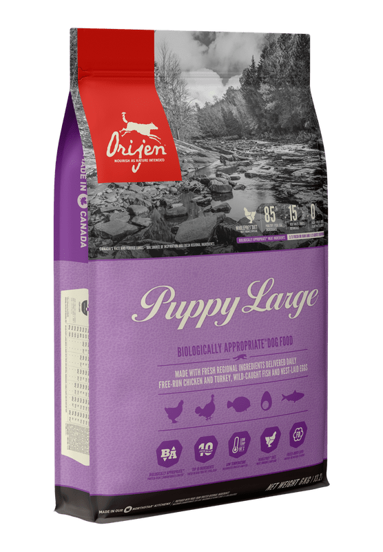 NS ORIJEN Puppy Large Dog Front Right 6kg